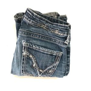 Big Star Sweet Boot Ultra Low Rise Jeans Size W26